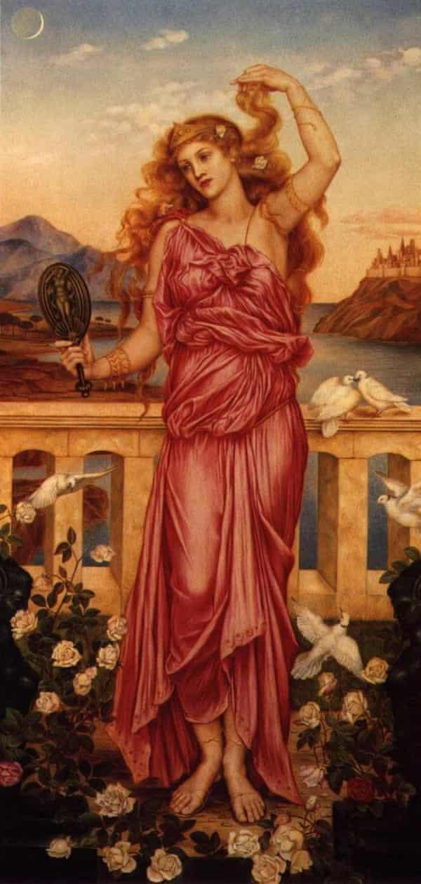 Helen of Troy, by Evelyn de Morgan.