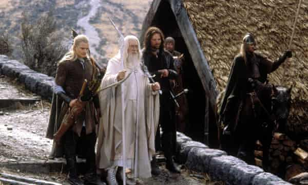 Ian McKellen and Vigo Mortenson in The Lord of the Rings: The Return of the King.