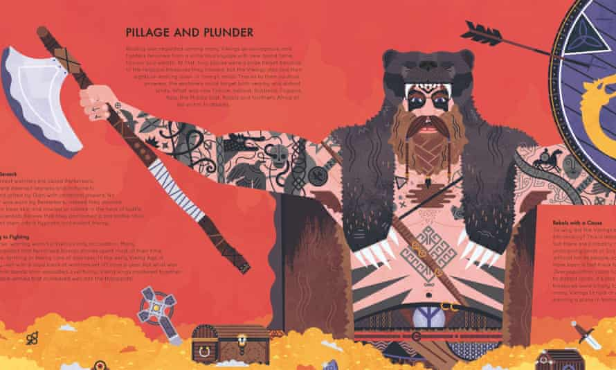 Gods and legends in Viking Voyagers by Jack Tite.