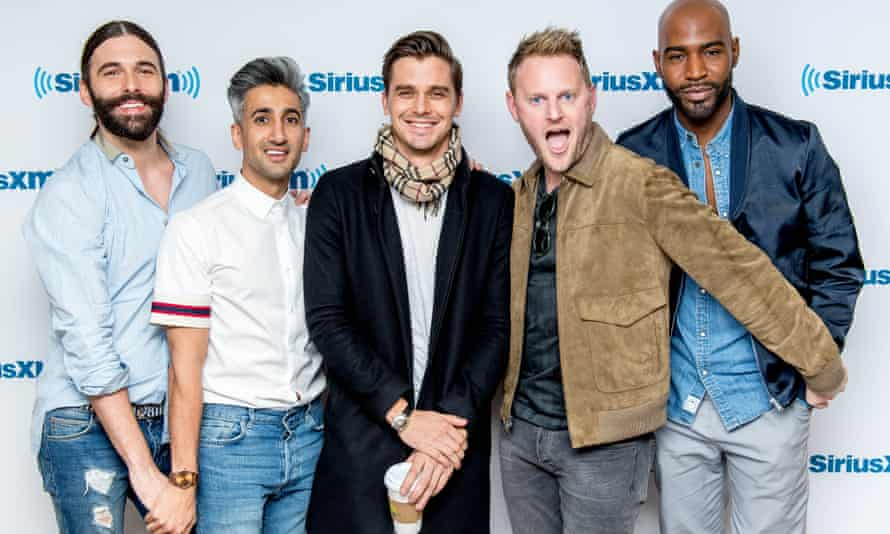 Jonathan Van Ness, Tan France, Antoni Porowski, Bobby Berk and Karamo Brown of Queer Eye.