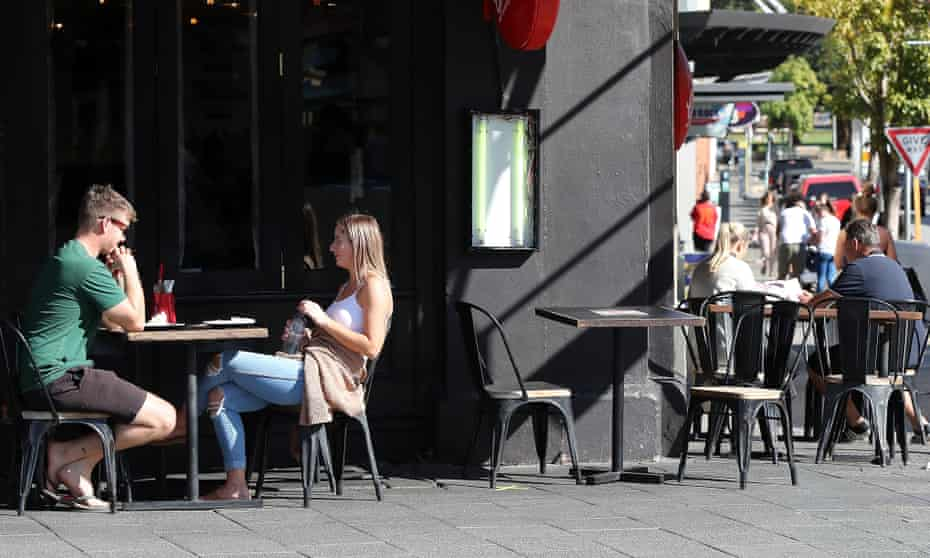 Customers dine at a Grill'd restaurant in Fremantle, Western Australia