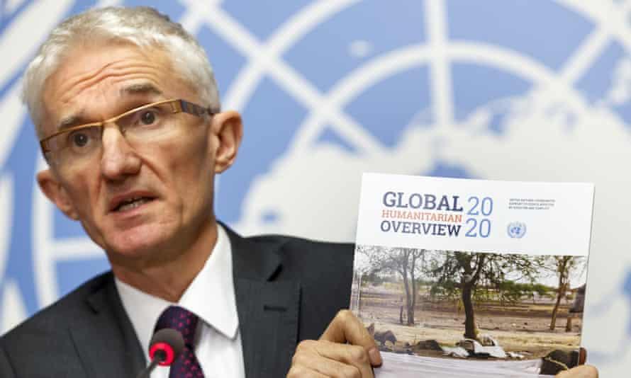 UN relief coordinator Mark Lowcock