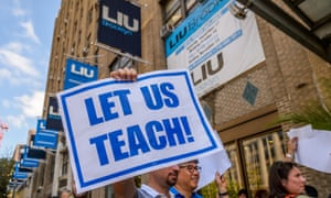 Brooklyn's Long Island University administration locked out faculty ahead of fall classes as a negotiating tactic.