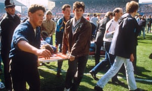Richard Venables, a former detective inspector, was on duty on the day of the Hillsborough disaster: 'I will feel guilt for the rest of my life.'