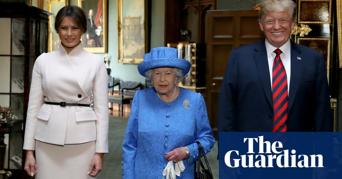 My How Time Flies Queen Elizabeth At 50 >> Was The Queen Sending Coded Messages To Donald Trump Via Her