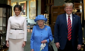 Was the Queen sending coded messages to Donald Trump via her