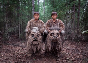 Twins Semyon and Stepan