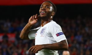 Raheem Sterling pointed to a marked difference between reports regarding young black and white footballers at Manchester City.