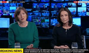 Frances O'Grady (left) and Carolyn Fairbairn