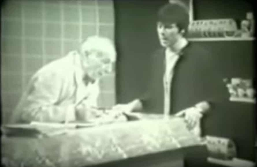 William Hartnell and Cliff Richard in 'Johnny Come Home'