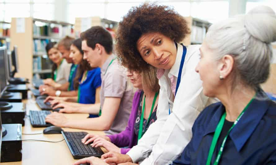 """""""Participation in adult learning is at a 20-year low."""""""