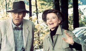 Sweet duet … Henry Fonda and Katharine Hepburn in On Golden Pond.