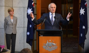 Malcolm Turnbull announces his new cabinet