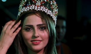 Shaymaa Abdelrahman has been crowned the first Miss Iraq in more than 40 years.
