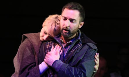 Laura Margaret Smith and Andrew Dickinson in the new chamber opera Hirda.