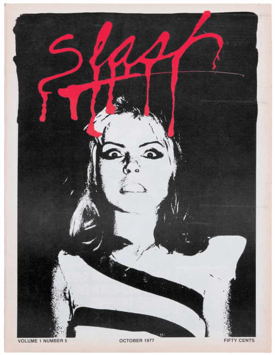 Volume 1, issue 5 had Debbie Harry on the cover.