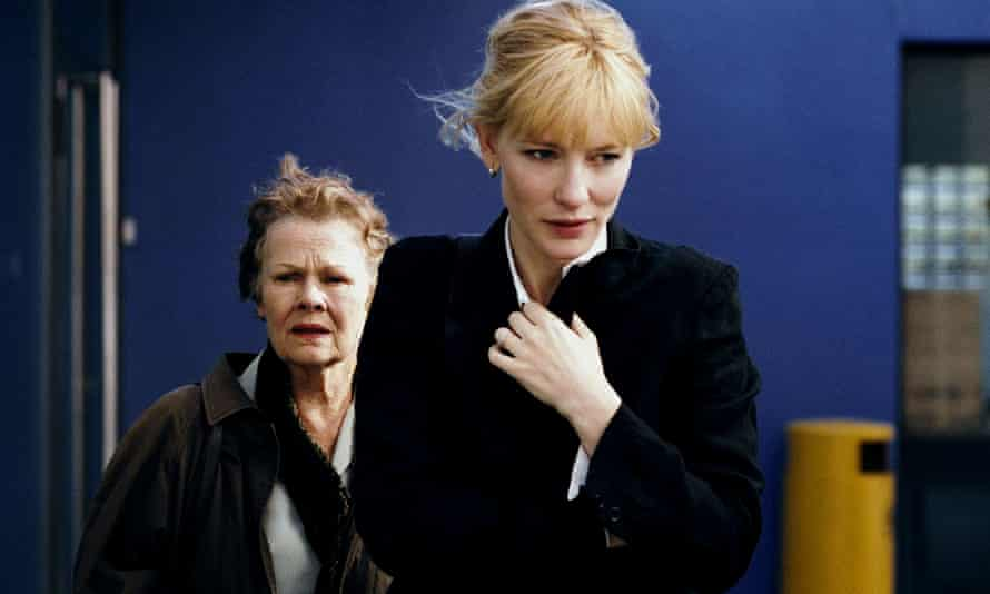 Judi Dench, left, and Cate Blanchett in the 2006 film adaptation of Notes on a Scandal.