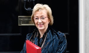 Andrea Leadsom apologised for the inconvenience to MPs and Commons staff.