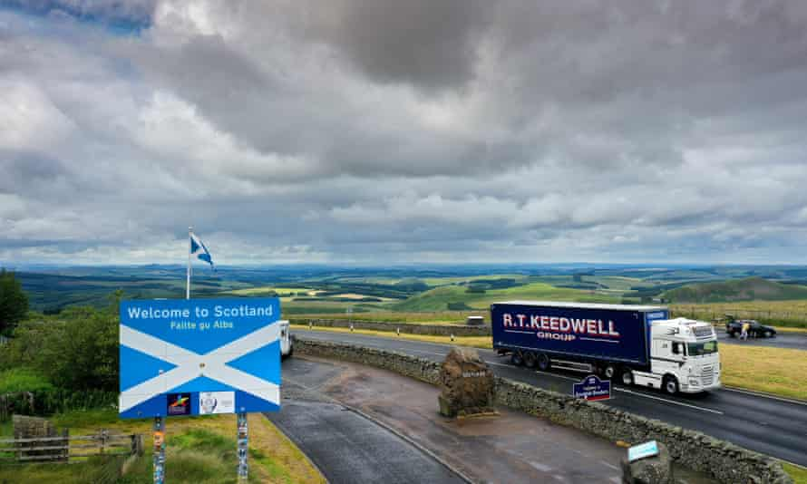 Redesdale in the Cheviot Hills on the border between Scotland and England