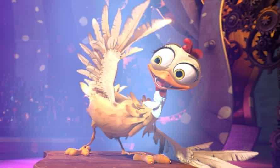 Emphatically hideous … The Wacky Hen