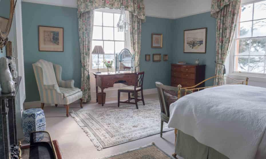 Bedroom. Langar Hall, Nottinghamshire