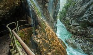 Cares gorge, Picos de Europa national park, northern Spain.