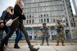 National Guard patrols In Philadelphia this week after police killing of Walter Wallace Jr sparks protests.