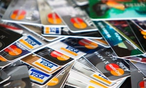 Consumers had outstanding balances of £62.8bn on their credit cards in November, up £100m on the month before.