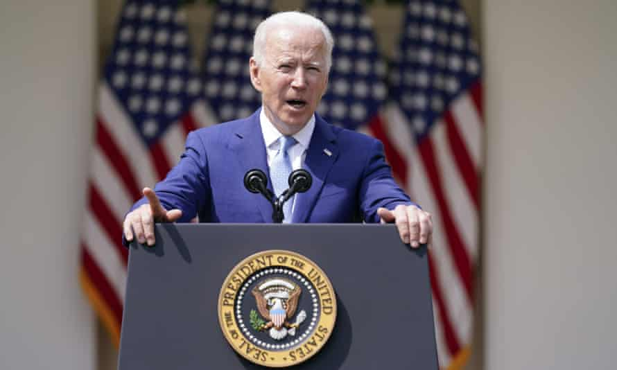 Biden's executive order directs the commission to complete its report within 180 days of its first meeting.