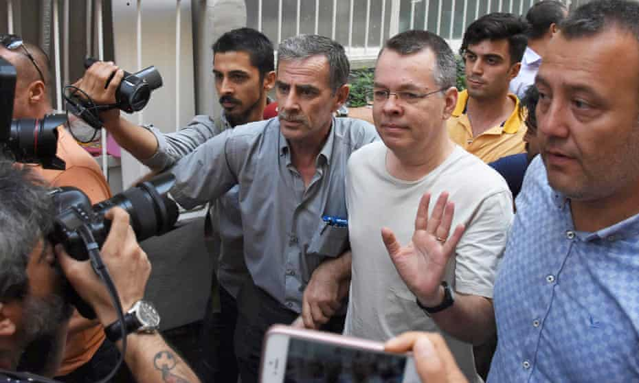 Andrew Brunson's arrest on disputed terrorism charges has made him a martyr in the eyes of Christian activists.