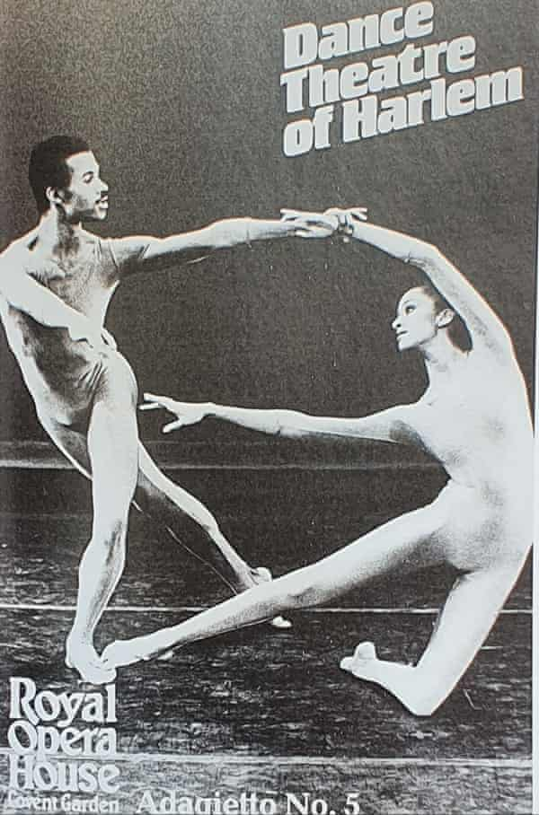 Felix on a poster for the Dance Theatre of Harlem