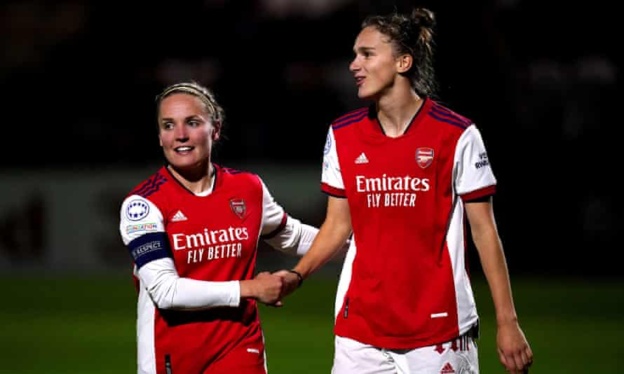 Heath and Miedema boost Arsenal's WCL hopes with Hoffenheim rout |  Women's Champions League