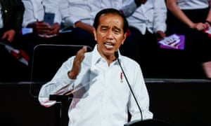 Indonesia's President Joko Widodo. 'We hope the UK will take a strong stand on press freedom in West Papua,' write eight UK parliamentarians.