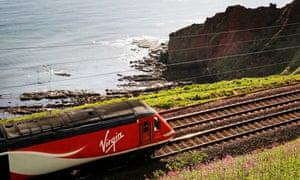 Virgin Trains locomotive.