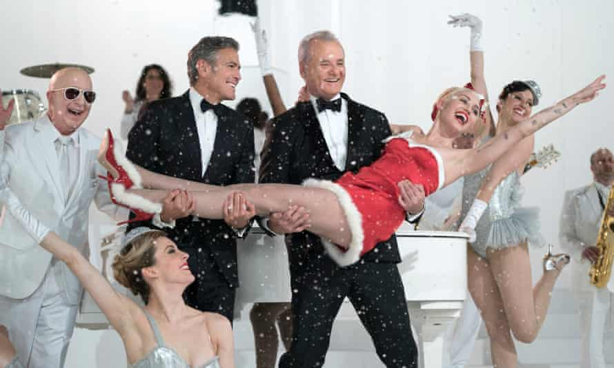 A Very Murray Christmas starring Bill Murray, George Clooney and Miley Cyrus.
