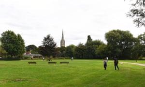 Queen Elizabeth Gardens in Salisbury.