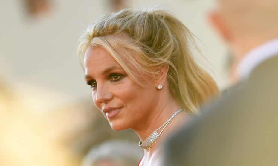 Britney Spears pictured in 2019.