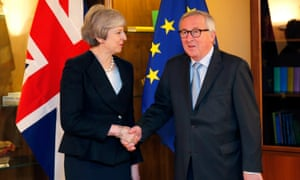 May in Strasbourg with Juncker.
