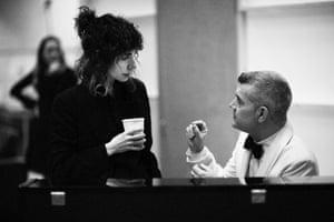 PJ Harvey and Philip-Voyzey
