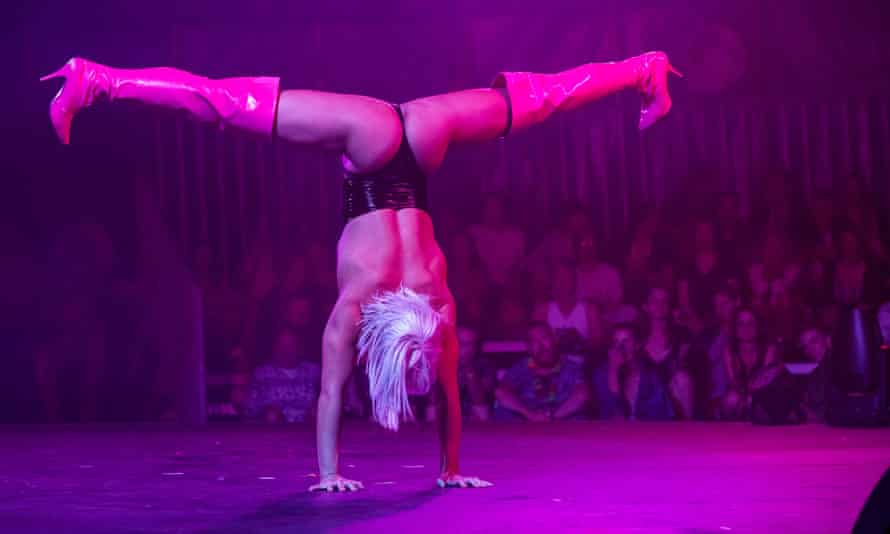 R-rated circus and burlesque from Club Briefs