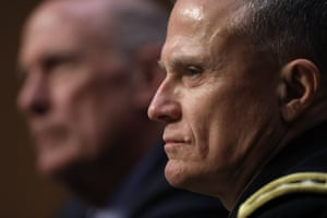 lieutenant general robert p ashley junior face in profile
