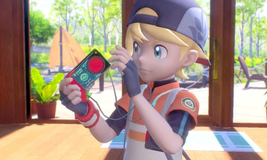 Laid-back … New Pokémon Snap.