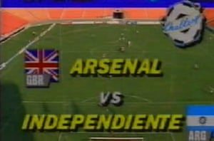 Arsenal faced the champions of Argentina in Miami after they won the league in 1989.