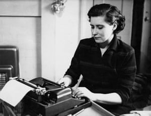 Doris Lessing, pictured in 1950.