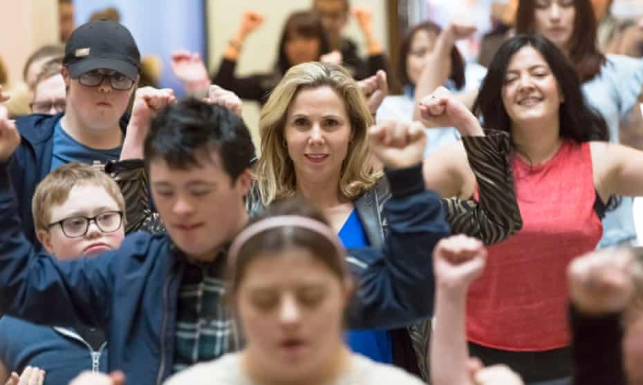 In A World Without Down's Syndrome?, Sally Phillips fears the number of terminations to go up as a result of the new test.