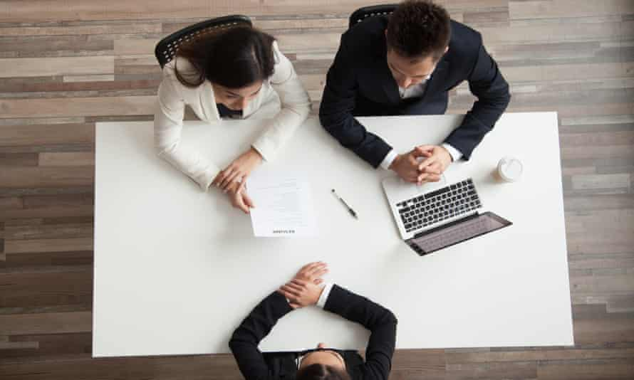 Interviews are an unreliable way of selecting the best person for the job