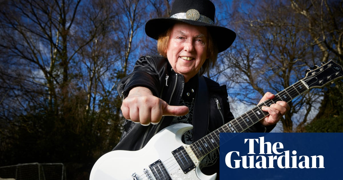 Slade guitarist Dave Hill: 'I'd come out of work, put on my costume and suddenly I'd be Superman!'