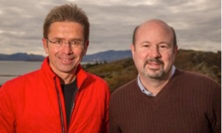 Dr. Stefan Rahmstorf (left) and Dr. Michael Mann (right).