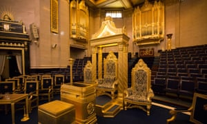 Freemasons' Hall in London is the headquarters of the United Grand Lodge of England.