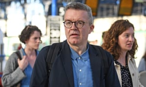 Tom Watson arriving for the Labour conference on Saturday.